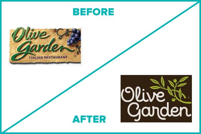 Olive Garden's logo refresh