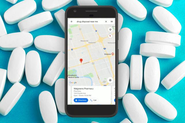 Google teams up with DEA, CVS, Walgreens on opioid disposal efforts