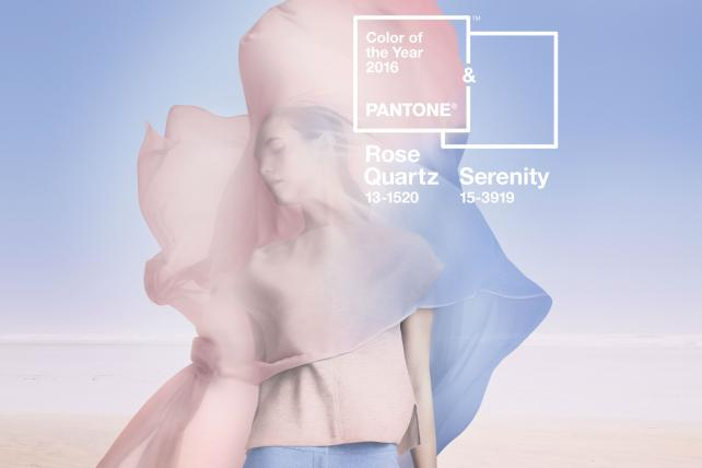 Pantone illustrates the Color of the Year.