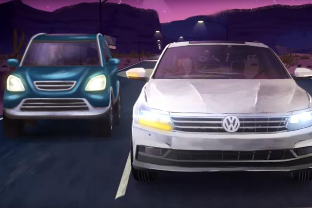Changing Lanes From Scandal, VW Gets 10 Million Views for Passat's Driver-Assist Features