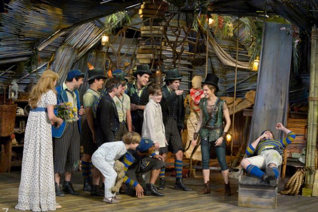 'Peter Pan Live' on NBC Thursday night, part of the network's effort to build a new live tradition.