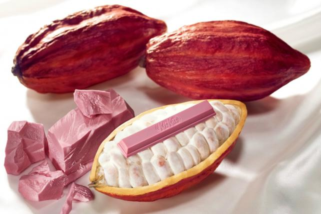 Nestle Debuts a New Type of Chocolate in KitKat-Crazed Japan, and It's Pink