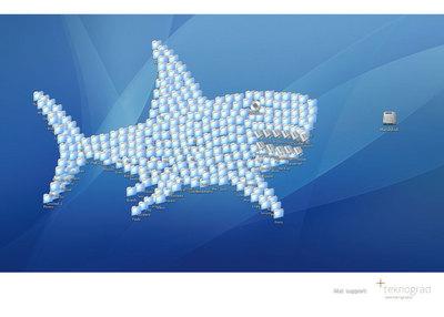 Rate the Ad: Teknograd: Shark, Skull, Space Invaders, Dinosaur