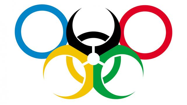 Reddit No. 7 2016 - Due to all the health hazards surrounding the Rio Olympics, I figured they could use a new logo. [OC].