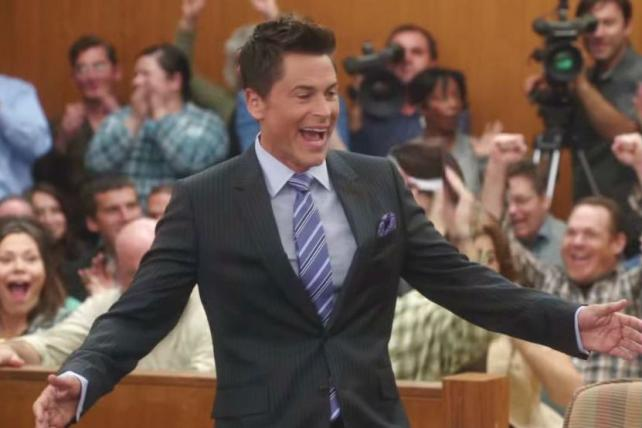 Rob Lowe in 'The Grinder.'