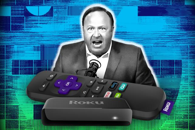 Roku Adds Then Drops Infowars After User Outrage