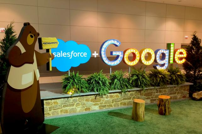 Here's what the Salesforce deal with Google Analytics 360 means for marketers