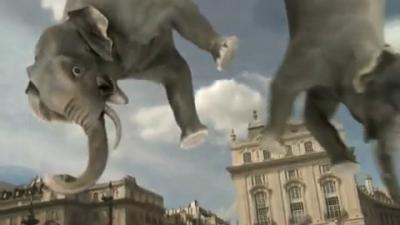 Rate the Ad: Samsung: Bungee Elephants