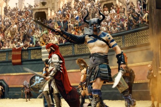 Behind Samsung's Blockbuster 4K Gladiator Ad