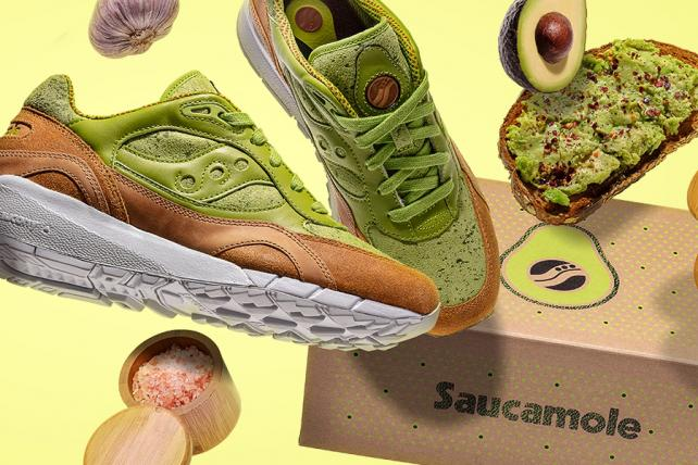 A sneaker brand shamelessly courts Millennials with bizarre avocado-themed shoe