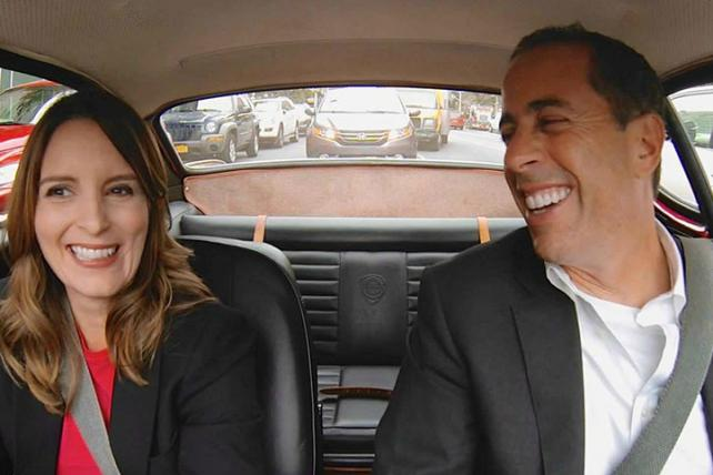 'Comedians in Cars Getting Coffee.'