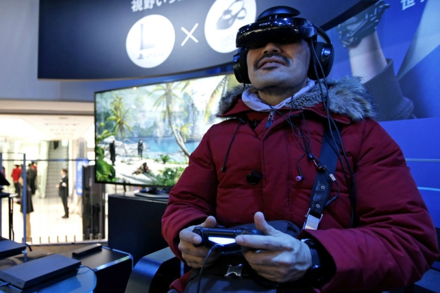 Sony to Release PlayStation 4-Compatible VR Headset in October