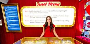 In London, Kellogg's Swaps Snacks for Tweets to #tweetshop
