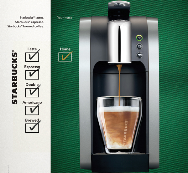Starbucks Ad Blitz Triple Duty Coffeemaker News Ad Age