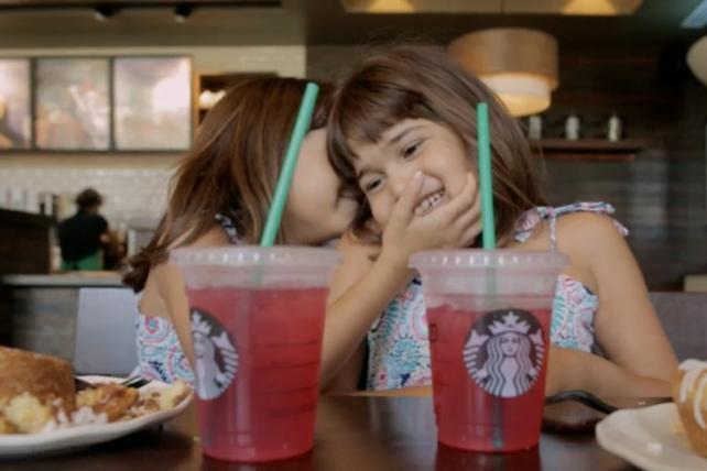 Image from Starbucks' most recent branding effort