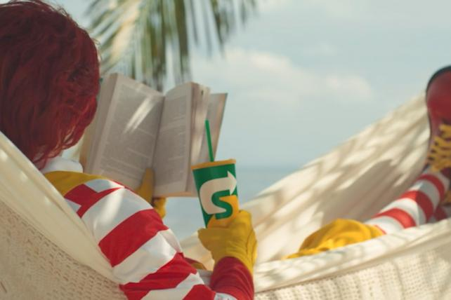 Subway goes after McDonald's in burger boredom ads