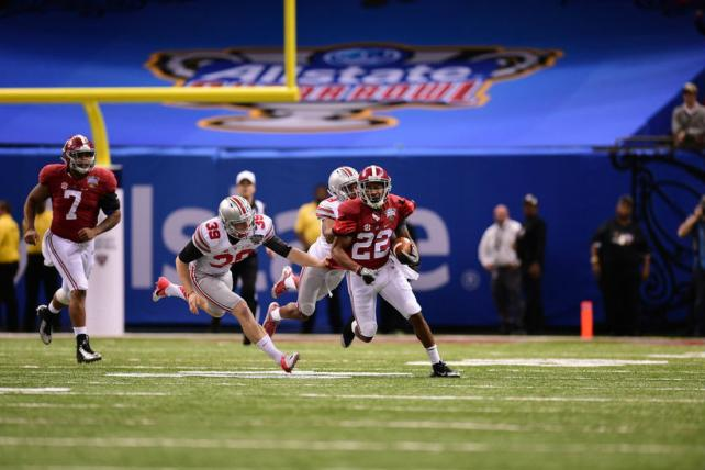 The Sugar Bowl between Ohio State and Alabama averaged 28.3 million viewers on New Year's Day, making it the most-watched cable TV program in history. Expectations are even higher for Monday's championship.