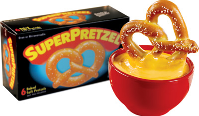 Five Questions With the Top Marketer of the Hot-Pretzel King