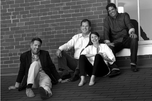 (L. to r.) Swirl partners Tom Sebastian, John Berg, Tasha McVeigh and Martin Lauber.
