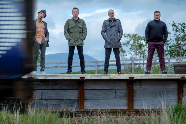 A scene from 'T2 Trainspotting,' the sequel to the 1996 original.
