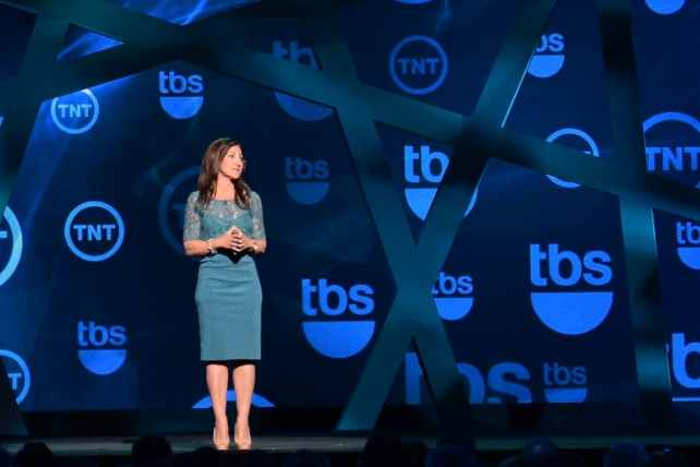 Donna Speciale at the 2013 TBS and TNT upfront.