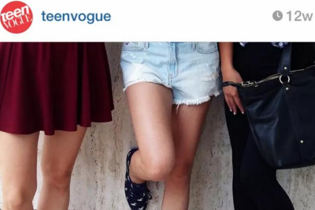 Brands like Teen Vogue will start receiving verification badges on Instagram.