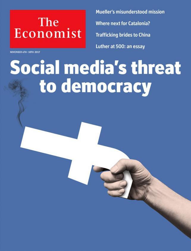 The Economist's Nov. 4-10, 2017 cover.