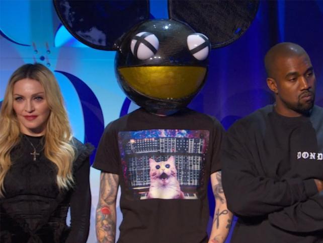 Madonna, Deadmau5 and Kanye West unite for Tidal.
