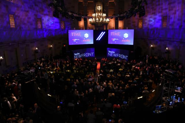 Time Inc.'s 2016 NewFronts event on Thursday, May 5.