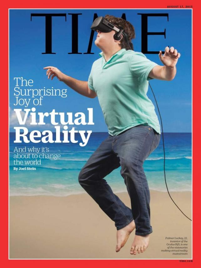 The Time cover featuring Palmer Luckey