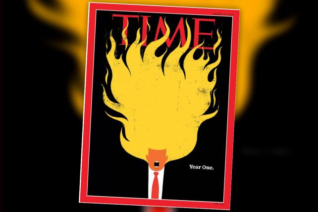 Time's New Trump Cover Is Totally [Fire Emoji]