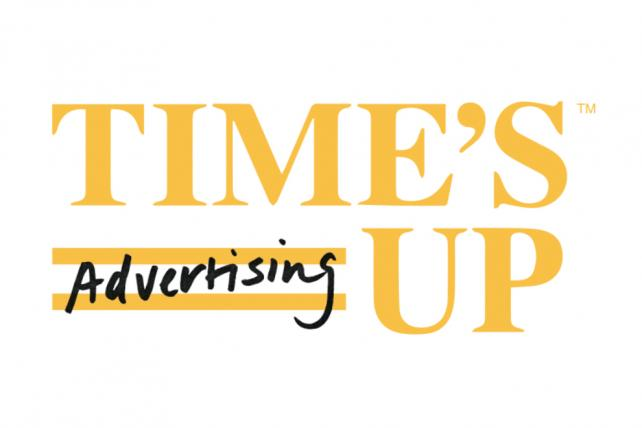 Time's Up/Advertising opens event after blowback