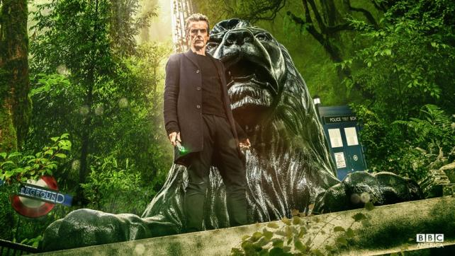 Peter Capaldi as Doctor Who.