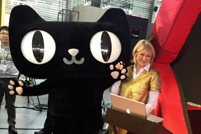How Martha Stewart Is Plugging Her Brand in China, With Alibaba's Help