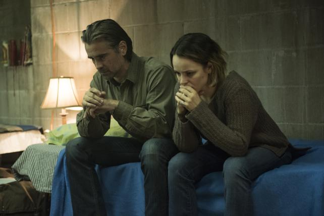 Colin Farrell and Rachel McAdams in the second season of 'True Detective,' which lost viewer momentum as it went. Season one worked the other way around.