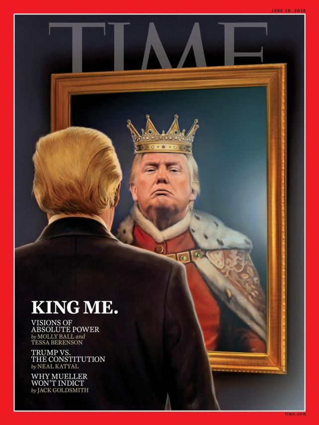 Time's June 18, 2018 cover.