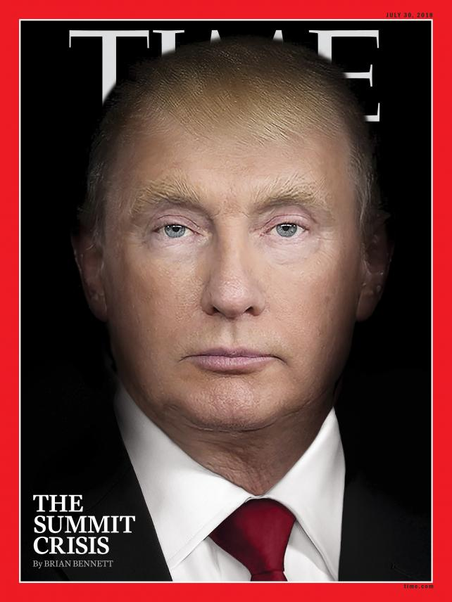 Time's July 30, 2018 cover.