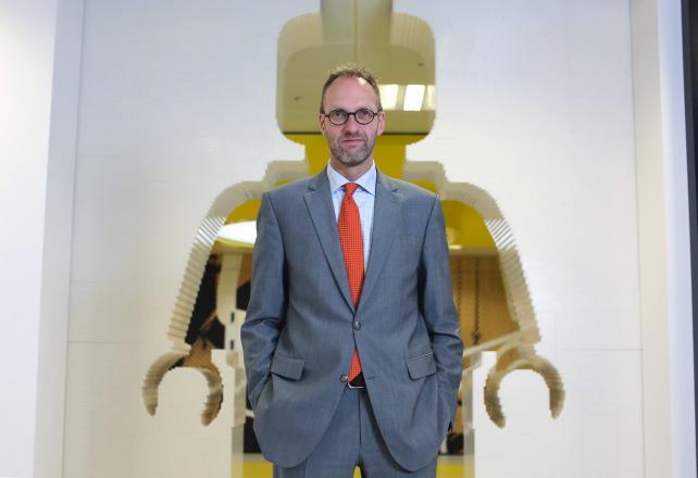 Lego Chairman Jorgen Vig Knudstorp.