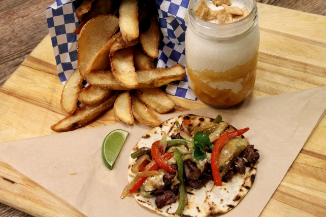 U.S. Taco Co.'s Philly cheesesteak-inspired taco