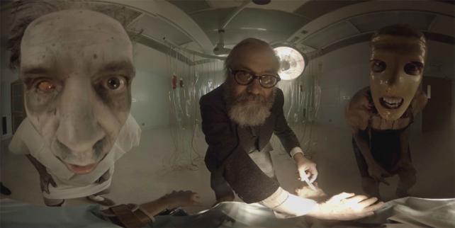 Still from Guy Shelmerdine's horror VR experience 'Catatonic'