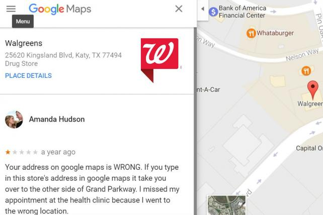 Incorrect map locations are a constant struggle for marketers.