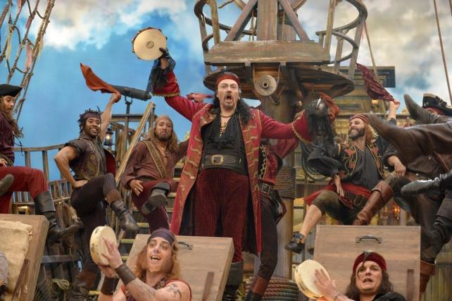 Christopher Walken as Captain Hook in 'Peter Pan.'