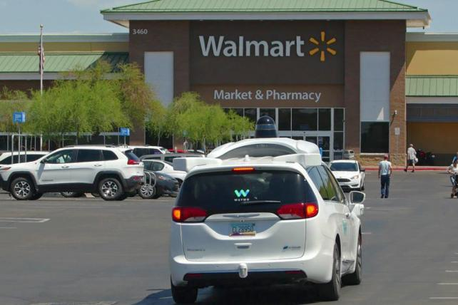 Marketer's Brief: Phoenix shoppers can take a self-driving Waymo to Walmart