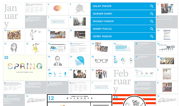 Warby Parker Unveils 2013 Annual Report -- and It's 365 Days Long