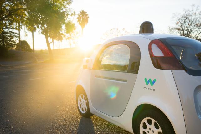 Waymo self-driving prototype 2