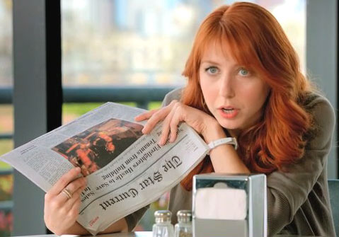 Redhead burger king commercial pics