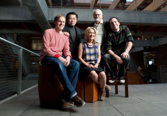 Wieden + Kennedy: Iain Tait, John Jay, Susan Hoffman, Dan Wieden, Mark Fitzloff