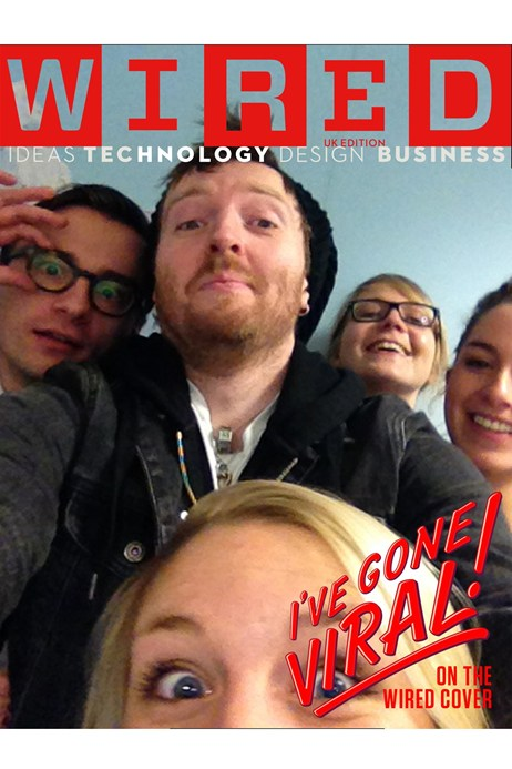 Wired UK: Front Cover Selfie