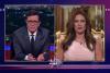 Watch 'Melania Trump' Explain to Colbert Why She's Forgiven Donald for the 'Locker-Room Talk'