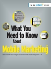 What You Need to Know About Mobile Marketing 2011